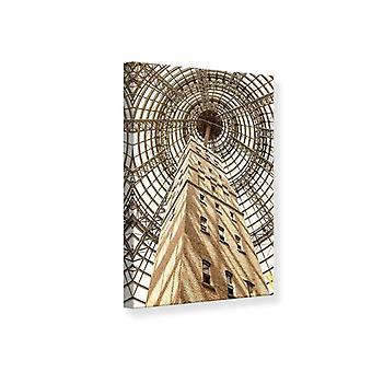 Leinwand drucken Wolkenkratzer hautnah