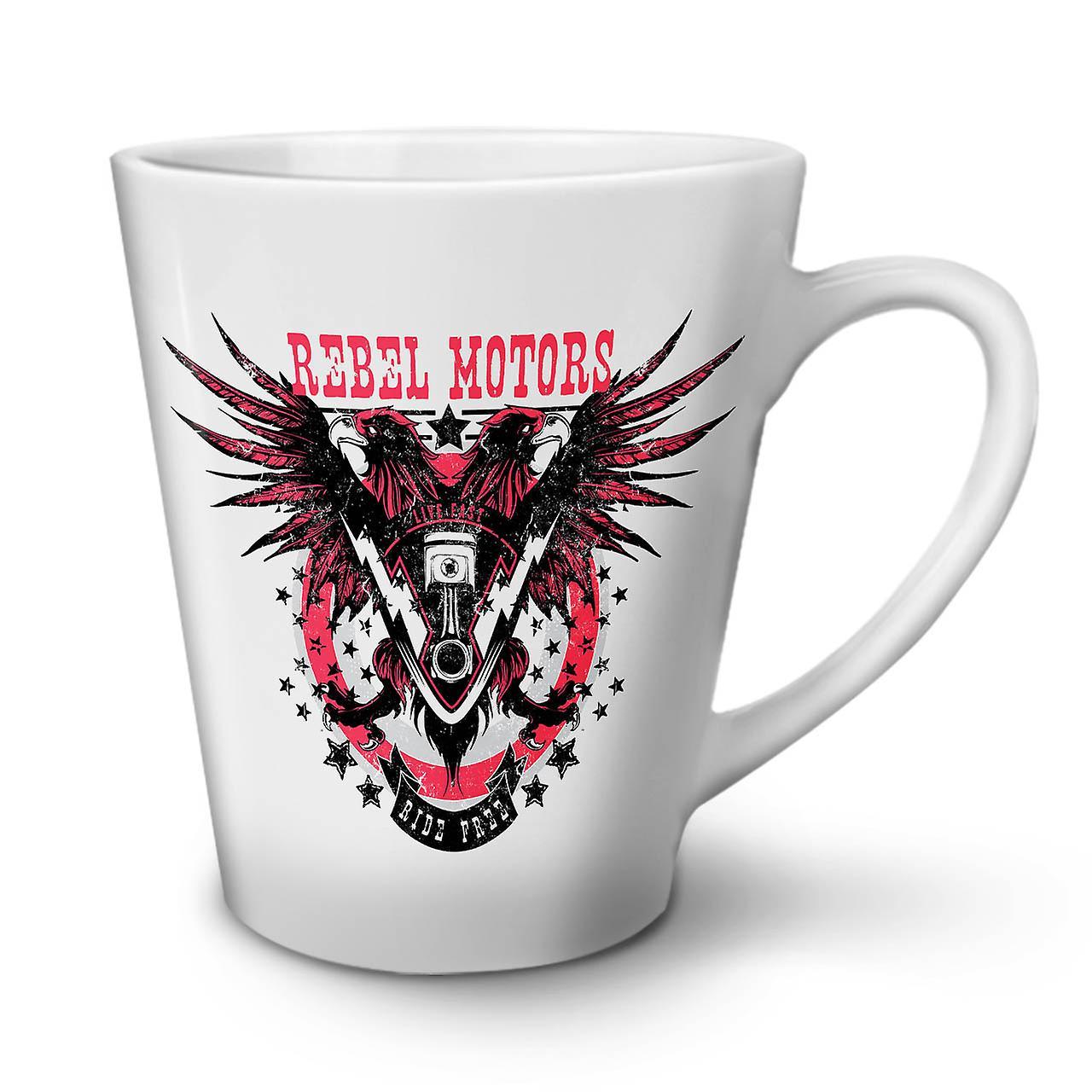 Moteurs OzWellcoda Motard 12 Club Mug En Thé Café Latte Nouveau Rebel Céramique Blanc 6Ygfb7y