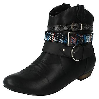 Ladies Coco Ankle Boots Style - L8628