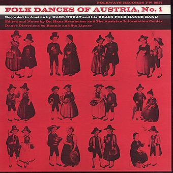 Karl Kubat - Karl Kubat: Vol. 1-Folk Dances of Austria [CD] USA import