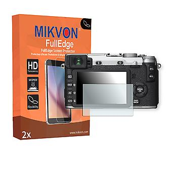 Fujifilm X-E2S screen protector - Mikvon FullEdge (screen protector with full protection and custom fit for the curved display)
