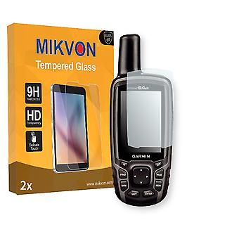Garmin GPSMAP 64st Screen Protector - Mikvon flexible Tempered Glass 9H (Retail Package with accessories)