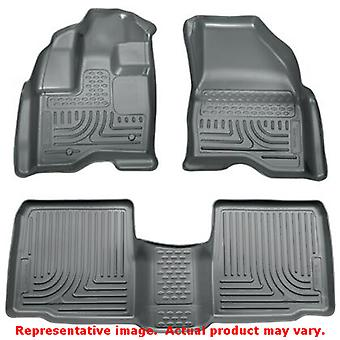 Husky Liners 98762 Grey WeatherBeater Front & 2nd Seat  FITS:FORD 2011 - 2014 E