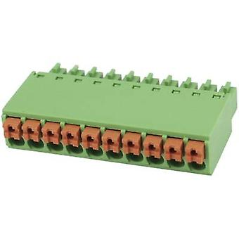 Pin enclosure - cable Total number of pins 6 Degson 15EDGKN-3.5-06P-14-00AH Contact spacing: 3.5 mm 1 pc(s)