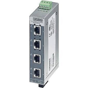 Unmanaged Phoenix Contact FL SWITCH SFN 4TX/FX No. of Ethernet ports 4