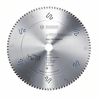 Top Precision Best for Multi Material circular saw blade - 254 x 30 x 2,3 mm, 80 Bosch Accessories