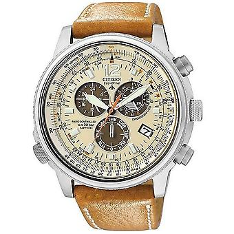 Citizen mens watch ProMaster sky Funkuhr chronograph AS4020-44 B