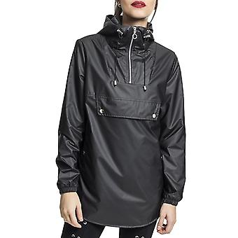 Urban classics ladies - high neck pull over jacket black