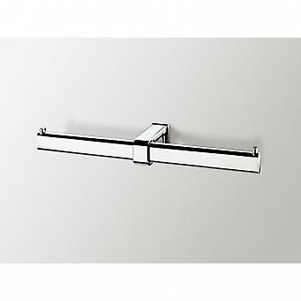 Sonia Nakar Double Toilet Roll Holder chrome 119196