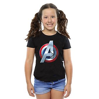 Marvel Girls Avengers 3D Logo T-Shirt
