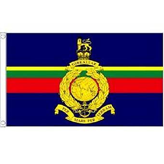 Marina Real bandera de 5 pies x 3 pies con ojales para colgar