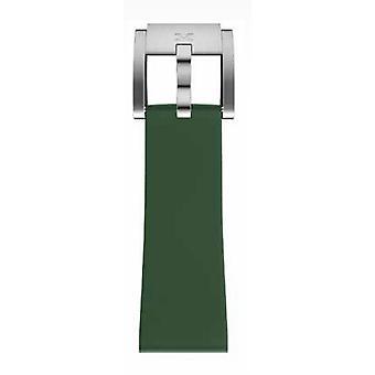 TW Steel Marc Coblen armbånd ur band silikone 22 MM mørk grøn SB_DG_S