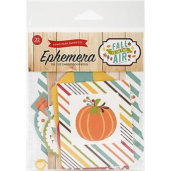 Fall Is In The Air Ephemera Cardstock Die-Cuts 33/Pkg
