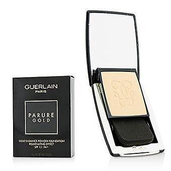Guerlain Parure Gold Rejuvenating Gold Radiance Powder Foundation Spf 15 - # 31 Ambre Pale - 10g/0.35oz
