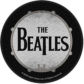 The Beatles Drum Sew-On Embroidered Cloth Patch 90Mm Diameter