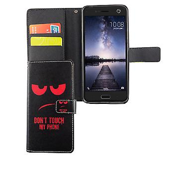 Mobile phone case pouch for mobile ZTE blade V8 dont touch my phone Red