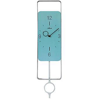 Атланта 5019/19 стены часы кварцевые аналоговые с Маятник маятник часов бирюза