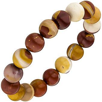 Mookait bracelet 19 cm Mookaitarmband elastic gem stone bracelet