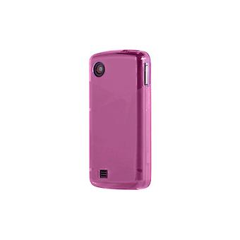 OEM Verizon LG Chocolate Touch VX8575 High Gloss Silicone Case - Pink (Bulk Packaging)
