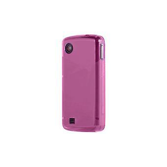 OEM Verizon LG Chocolate Touch VX8575 High Gloss Silicone Case - Pink (Bulk Pack