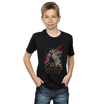 Marvel Boys Ant-Man And The Wasp Framed Wasp T-Shirt