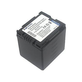 Batterie de rechange Hitachi DZ-BP21 de Dot.Foto - 7.2V / 2040mAh - garantie de 2 ans [Voir la Description de compatibilité]