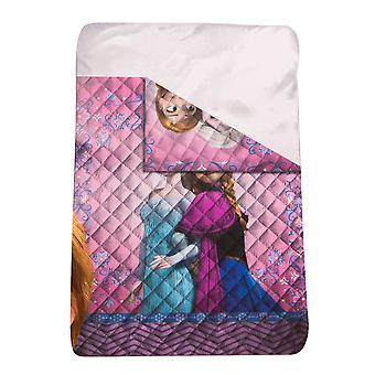 Frozen Frost Anna Elsa Bedspread/coverlet For single bed 140 x 200