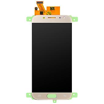 Części zamienne LCD z ekranem dotykowym dla Galaxy J5 2017 - złoto