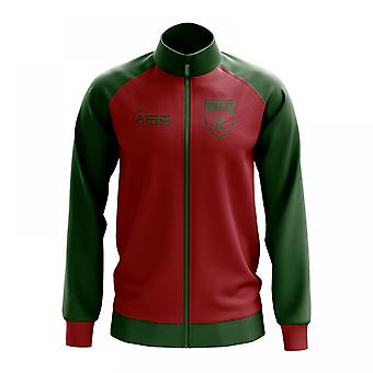 Morocco Concept Football Track Jacket (Red)
