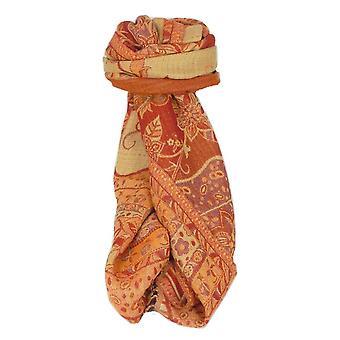 Muffler Scarf 9551 in Fine Pashmina Wool Heritage Range by Pashmina & Silk