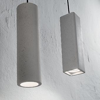 Ideell Lux eik SP1 rundt sement anheng lys