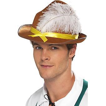 Baviera Baviera sombrero sombrero del Festival de cerveza de Oktoberfest Seppelhut