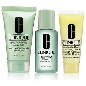 Clinique Pack of 3 Steps Introduction Type of Skin 1 (Cosmetics , Face , Gifts & packs)