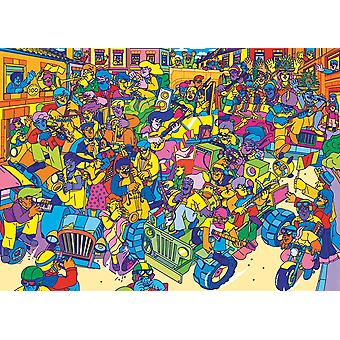 Gibsons Carnival Jigsaw Puzzle (1000 pieces)
