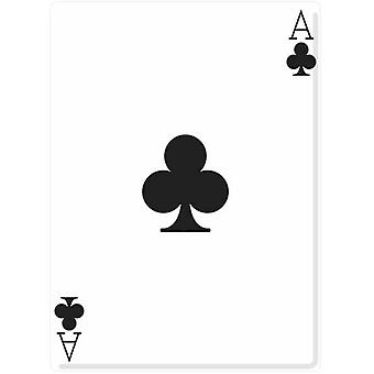 Ace of Clubs (Poker Night) - Lifesize Cardboard Cutout / Standee