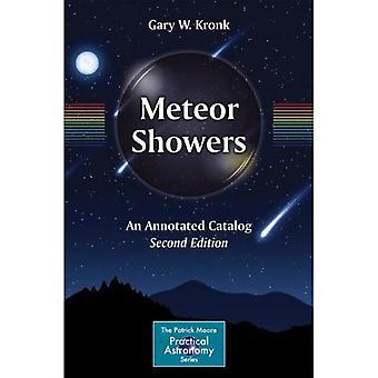 Meteor brusere: En annoteret katalog (Patrick Moore praktisk astronomi-serien)