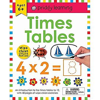 Wipe Clean Workbook: Times Tables (Wipe Clean Learning� Books)