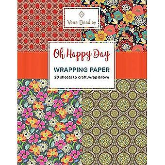 Vera Bradley Oh Happy Day Wrapping Paper (Vera Bradley Wrapping Paper)