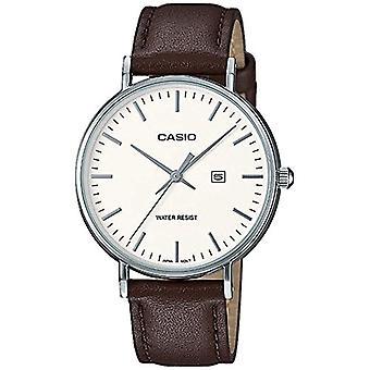 Casio Analog quartz ladies watch with leather LTH-1060-7AER