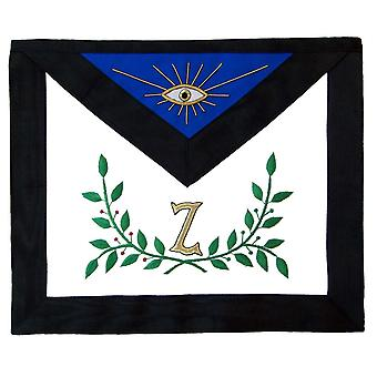 Masonic AASR 4th Degree Apron and Collar Set Hand Embroidered