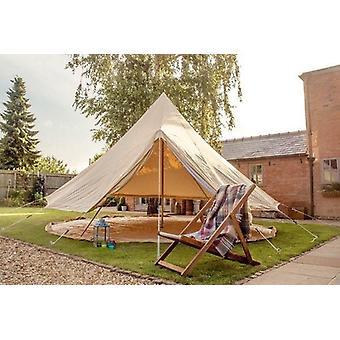 5 メートル耐火キャンバス ベル テント