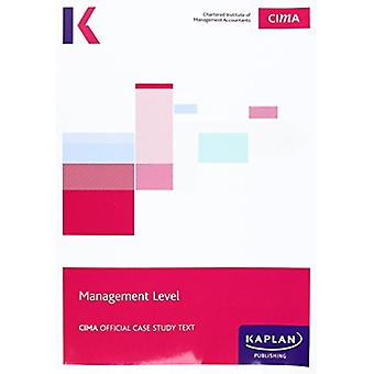 CIMA Managerial Case Study - Study Text by Kaplan Publishing - 978178