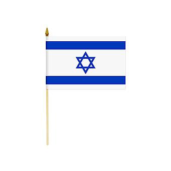 Israel-Hand-Held-Flagge