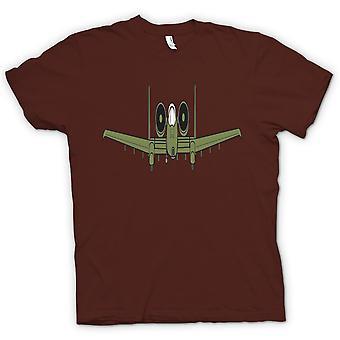 Mens T-shirt - A10 Tankbuster Do Ya Feel Lucky Punk