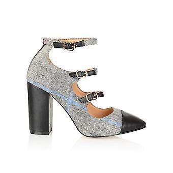 Battersea tweed shoes