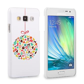 Caseflex Samsung Galaxy A3 kerst Bauble decoraties Hardcase