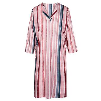 Rosch 1194526-16397 Women's Curve Multicoloured Striped Cotton Nightdress