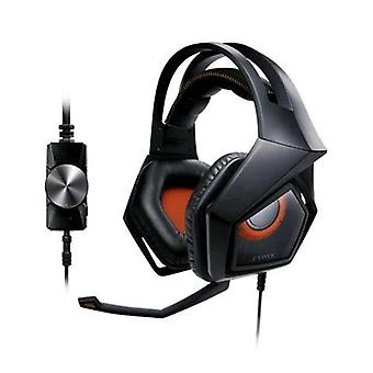 Asus strix pro gaming headphones with 60mm magnets black color