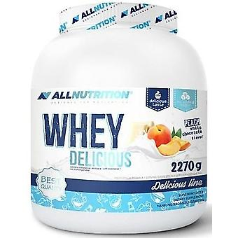 Allnutrition Whey Delicious Chocolate 2270 g (Esporte , Massa muscular , Proteínas)