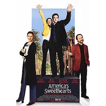 Affiche de cinéma originale d'America-apos;s Sweethearts (Single Sided)
